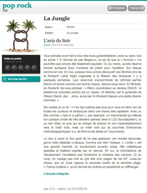 1 - Le Soir : Mad